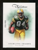 2012 Panini Prime Signatures #172 Sterling Sharpe /499