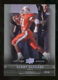 2012 Upper Deck All-Time Greats Silver #52 Barry Sanders /35