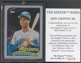 1989 Topps Gulfstream Mint Ken Griffey Jr. Keeper Series #075/500