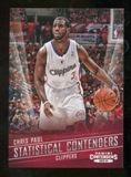 2012/13 Panini Contenders Statistical Contenders #8 Chris Paul