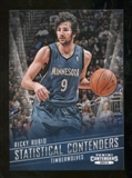2012/13 Panini Contenders Statistical Contenders #9 Ricky Rubio