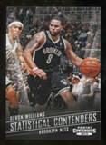 2012/13 Panini Contenders Statistical Contenders #10 Deron Williams