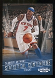 2012/13 Panini Contenders Statistical Contenders #22 Carmelo Anthony