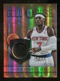 2012/13 Panini Gold Standard Gold Rush #28 Carmelo Anthony /25