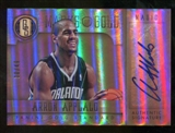 2012/13 Panini Gold Standard Marks of Gold Autographs #28 Arron Afflalo Autograph /49