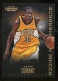 2012/13 Panini Contenders Rookie Remembrance #4 Kevin Durant