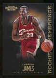 2012/13 Panini Contenders Rookie Remembrance #8 LeBron James