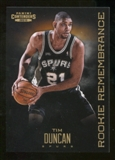 2012/13 Panini Contenders Rookie Remembrance #13 Tim Duncan