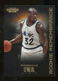 2012/13 Panini Contenders Rookie Remembrance #18 Shaquille O'Neal