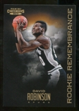 2012/13 Panini Contenders Rookie Remembrance #21 David Robinson