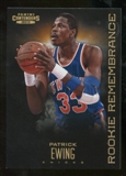 2012/13 Panini Contenders Rookie Remembrance #24 Patrick Ewing