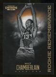 2012/13 Panini Contenders Rookie Remembrance #33 Wilt Chamberlain