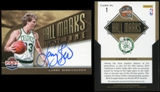 2012/13 Panini Past and Present Hall Marks Autographs #1 Larry Bird SP