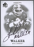 2012 SP Authentic #136 Herschel Walker Auto SP