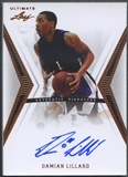 2012/13 Leaf Ultimate #DL1 Damian Lillard Rookie Auto
