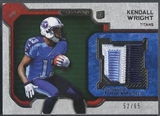 2012 Topps Strata #RRKW Kendall Wright Green Rookie Patch #52/65
