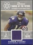 2007 Bowman #FFYF Yamon Figurs Fabric of the Future Rookie Jersey