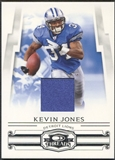 2007 Donruss Threads #87 Kevin Jones Rookie Jersey #177/250