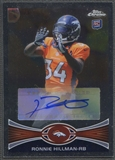 2012 Topps Chrome #192 Ronnie Hillman Rookie Auto