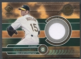 2001 Private Stock #131 Tim Hudson Game Gear Jersey