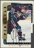 1996/97 Be A Player #6B Paul Kariya Link to History Auto