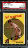 1959 Topps Baseball #415 Bill Mazeroski PSA 7 (NM) *3016