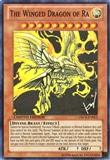 Yu-Gi-Oh Order of Chaos Single the Winged Dragon of Ra Super Rare - Slightly Played (SP)