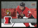 2008/09 Upper Deck Game Jerseys #GJDH Dany Heatley