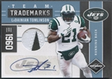2011 Limited #18 LaDainian Tomlinson Team Trademarks Patch Auto #10/10