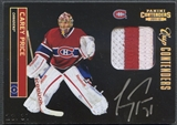 2011/12 Panini Contenders #115 Carey Price Patch Auto #23/31