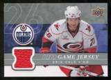 2008/09 Upper Deck Game Jerseys #GJEC Erik Cole