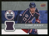 2008/09 Upper Deck Game Jerseys #GJGB Gilbert Brule