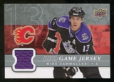 2008/09 Upper Deck Game Jerseys #GJMC Mike Cammalleri