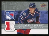 2008/09 Upper Deck Game Jerseys #GJNZ Nikolai Zherdev