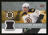 2008/09 Upper Deck Game Jerseys #GJPA Patrice Bergeron