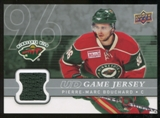 2008/09 Upper Deck Game Jerseys #GJPB Pierre-Marc Bouchard
