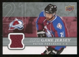 2008/09 Upper Deck Game Jerseys #GJPF Peter Forsberg