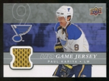 2008/09 Upper Deck Game Jerseys #GJPK Paul Kariya