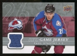 2008/09 Upper Deck Game Jerseys #GJPS Paul Stastny