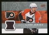 2008/09 Upper Deck Game Jerseys #GJRI Mike Richards
