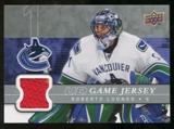 2008/09 Upper Deck Game Jerseys #GJRL Roberto Luongo