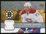 2008/09 Upper Deck Game Jerseys #GJRY Michael Ryder