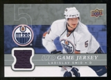 2008/09 Upper Deck Game Jerseys #GJSM Ladislav Smid