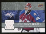 2008/09 Upper Deck Game Jerseys #GJTH Jose Theodore