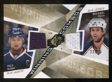 2008/09 Upper Deck SPx Winning Combos Spectrum #WCPZ Michael Peca/Rick Nash /99