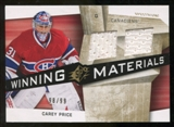 2008/09 Upper Deck SPx Winning Materials Spectrum #WMCP Carey Price /99