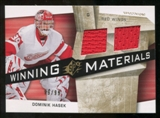 2008/09 Upper Deck SPx Winning Materials Spectrum #WMDH Dominik Hasek /99