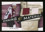 2008/09 Upper Deck SPx Winning Materials Spectrum #WMHD Milan Hejduk /99