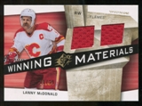2008/09 Upper Deck SPx Winning Materials Spectrum #WMLM Lanny McDonald /99