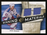 2008/09 Upper Deck SPx Winning Materials Spectrum #WMMM Mark Messier /99